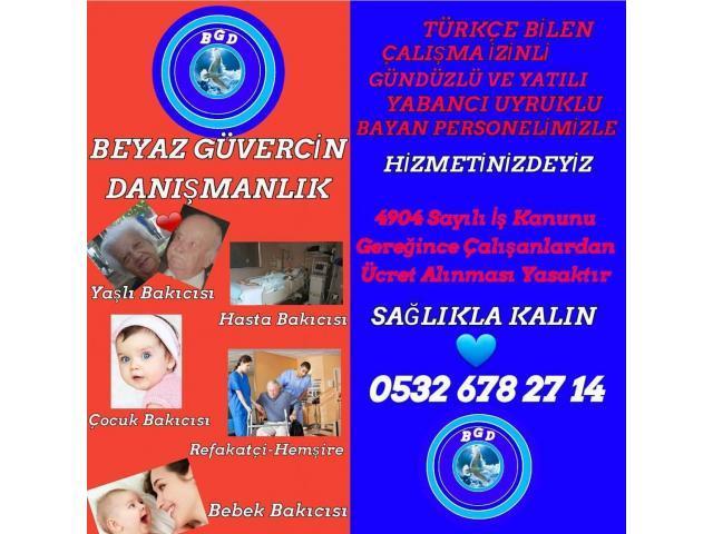 Yatılı Bakıcı / Evde Bakım Hizmeti / Ankara Bahcelievler